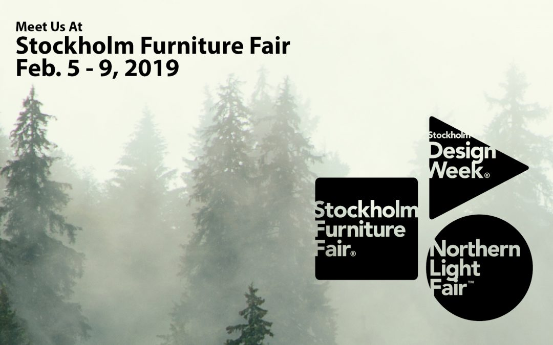 Mød os på stand B02:01 på Stockholm Furniture Fair
